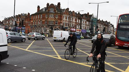 The junction of Clapton Common and Stamford Hill has been compared to 'Wacky Races'. (Picture: Ken M