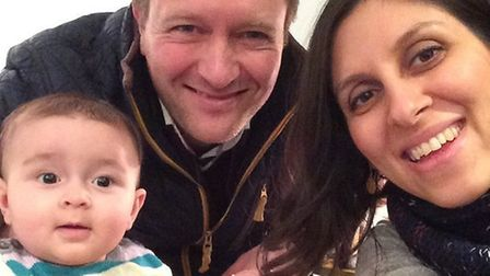 Nazanin and Richard Ratcliffe with daughter Gabriella