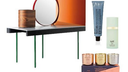 Chandlo dressing table, £9,522, BD Barcelona Design from Nest.co.uk. From top: Free from parabens, p