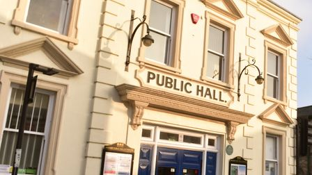 Beccles Public Hall. PHOTO: Nick Butcher
