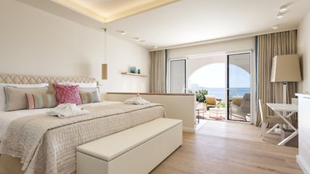A new deluxe suite at the new 'Residence' accommodation
