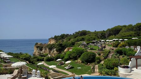 The new Club House at Vila Vita Parc overlooks its private beach