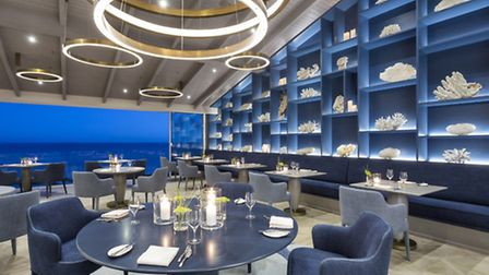 The two Michelin-starred Ocean restaurant
