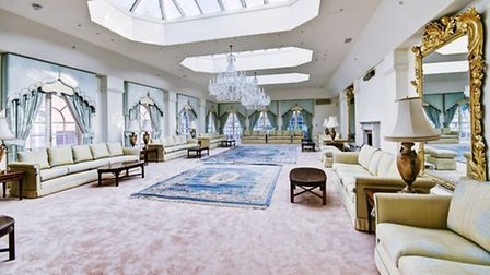 Ample space for entertaining in this Bishops Avenue mansion