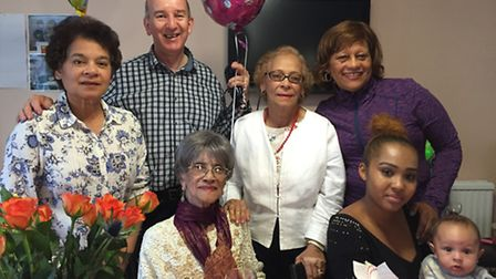 Reenie celebrates her 108th birthday on Friday surrounded by friends and family (Picture: Unzela Ann