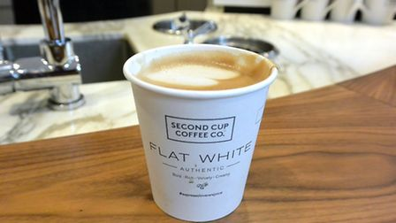 If you can get a flat white made with oat, rice or almond milk as well as soy, then you do not live
