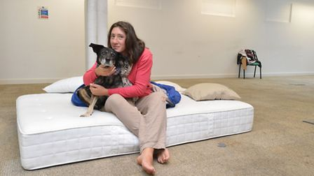 Valeria Keller and Zizy at 20 Westland Place