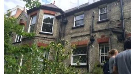 The Shepherd's Hill villas between Highgate and Crouch End