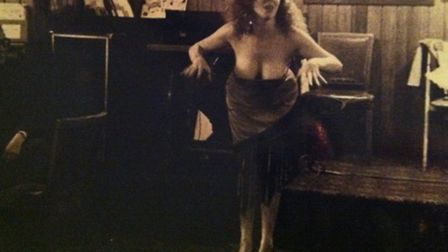 Jo King who was one of the first strippers to work at the White Horse in the 80s