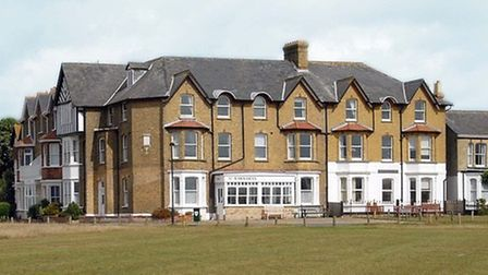 St Barnabas Care Home in Southwold. Picture: STEPHEN WOLFENDEN