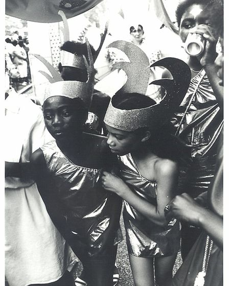 The Hackney Carnival in 1988, taken by an unknown photographer. (Photo: Hackney Museum)