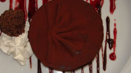 The black forest gateau is a staple in the 70s nostalgia trip