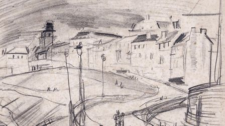 Joseph Carl's drawings will be on display alongside Roei Greenberg's photographs of Hampstead