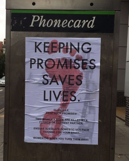 This poster also appeared in Hackney