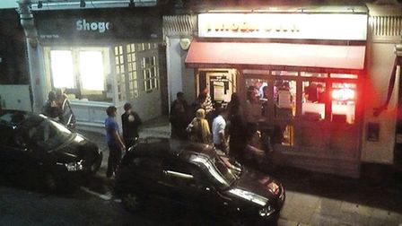The attack were on people leaving Tinseltown in Hampstead