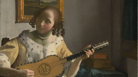 The Guitar Player by Johannes Vermeer is at Kenwood House
