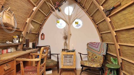 Shed of Dreams, Warwickshire, winner of cabin and summerhouse section, Cuprinol Shed of the Year com