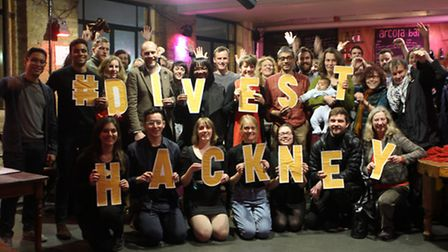 The group is calling on Hackney Council to take its pension funds out of fossil fuels