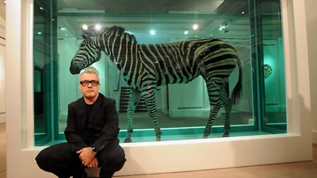 Damien Hirst reportedly spent a cool �34 million on his home on Hanover Terrace