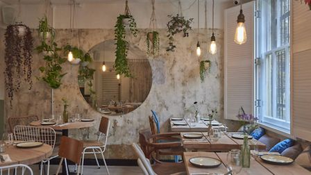 The garden room at Strut and Cluck