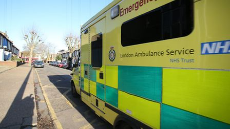 Emergency crews were called to the junction of the A13 and Prince Regent Lane
