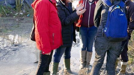 Highgate councillor Sally Gimson returned to the Calais Jungle this week