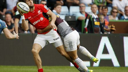 Mike Ellery was one of the few Saracens players who impressed in the defeat to Harlequins