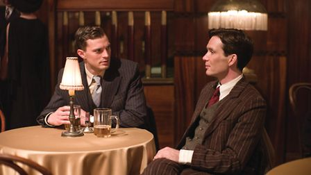 Jamie Dornan and Cillian Murphy in Anthropoid. Picture: Bleecker Street
