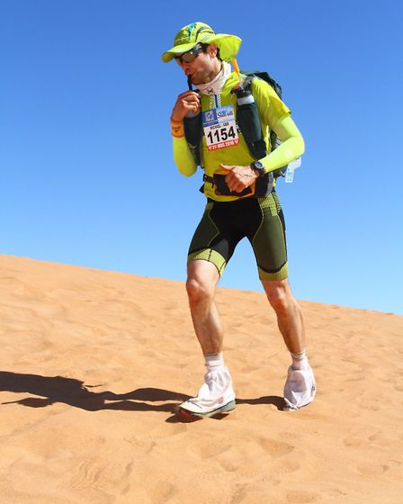 Mike Smith is embarking on a 24 hour marathon of tasks to raise money for WaterAid