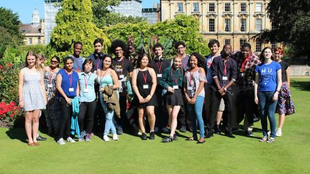 Hackney students visited the University of Cambridge last week.