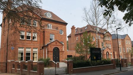 A grand former matrons house and two other properties in Bishopswood Road, Highgate, were bought for