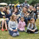 Lark In The Park, celebrating 125 years of Waterlow Park 17.09.16. Crowds enjoy the events on the ma