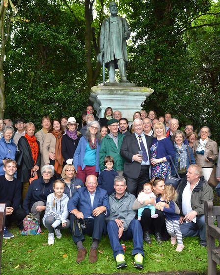 Lark In The Park, celebrating 125 years of Waterlow Park 17.09.16. The Waterlow Family who had trave