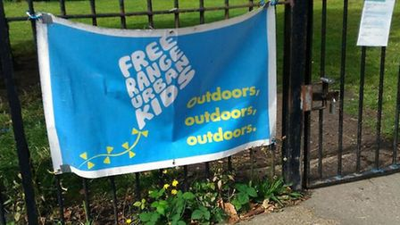 Free Range Urban Kids are running their play groups out of Millfields Park