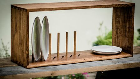 Dish rack by One Off Oak in Highgate