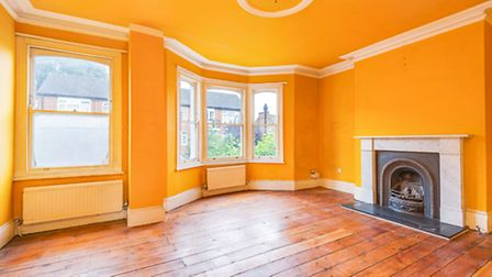 Fans of bright, floor-to-ceiling colours have found their dream apartment in this Tufnell Park prope