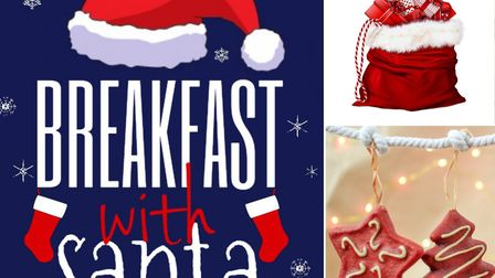 Breakfast with Santa at the Marina Theatre. Picture: Courtesy of the Marina Theatre