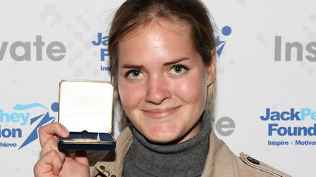 Lara Slyce won a Jack Petchey Achievement Award last week in recognition of her work for Hackney-bas