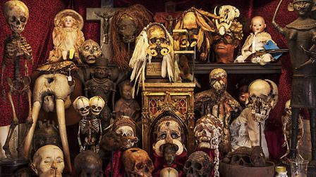 The 'Cabinet Dedicated to Dead People'. Picture: Oskar Proctor