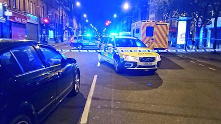 Police we re called just after 4.20am. Picture: @LAS_JRU