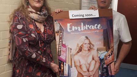 Jane Page who has organised four more screenings of the Embrace documentary in partnership with Phil