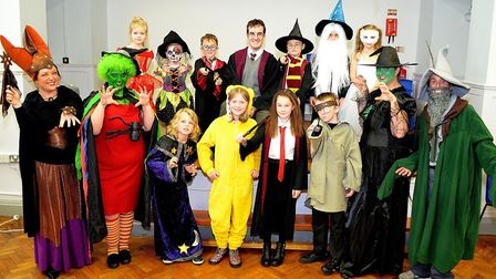 A previous Children in Need event at St Margarets Primary Academy in Lowestoft. Pictures; MICK HOWES