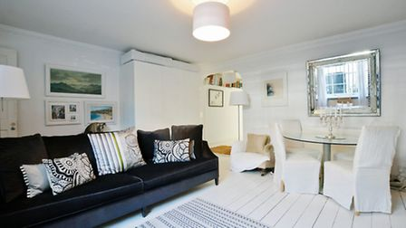 This Primrose Hill flat is a bit of all white