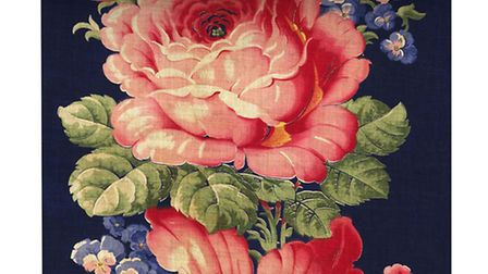 Romanoff wallpaper, from the Russian florals collection, from £120, available from Debbie McKeegan.
