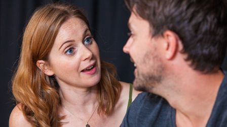Kate Batter and James Robinson in This Little Life of Mine. Picture: Charlie Round-Turner