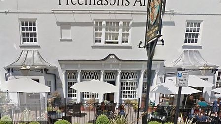 The Freemasons Arms in Downshire Hill