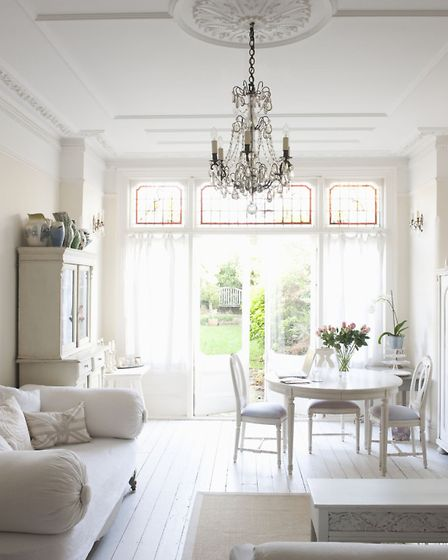 Paint a room white for more light. PA Photo/thinkstockphotos.