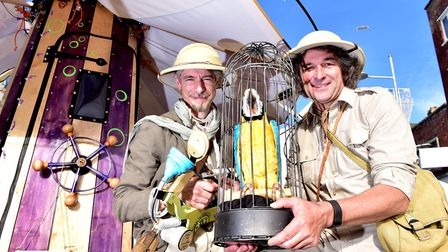 Max and Spadge at Flipside Festival in Lowestoft. Picture: Nick Butcher