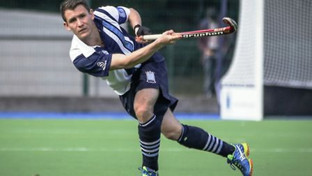 Hampstead & Westminster hockey captain Toby Roche. Pic: Mark Clews