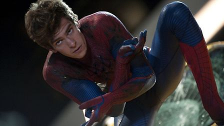 Andrew Garfield in The Amazing Spiderman